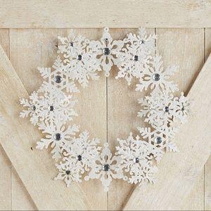 Pier1 Snowflake wreath